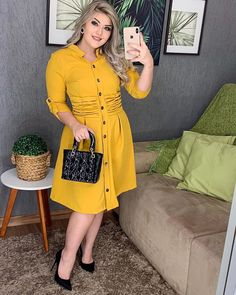 Curvy Outfits, Modest Outfits, Fashion Outfits, Casual Work Outfit Summer, Work Casual, Light Dress, Madame, Spring Outfits, Plus Size Fashion