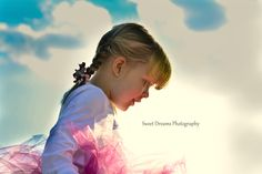 Outdoor birthday session, 3 year old little girl with the sun behind her  www.facebook,com/sweetdphotos