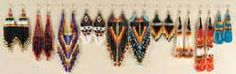 Beadwork - Leather Unlimited #leather_products #hides #Hair_on_Hides #leather_lace #leathercraft #deerskin #beaded_earrings #Leather_Tools #black_powder_gear