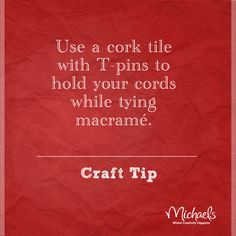 Create a DIY macrame board
