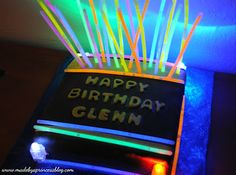 Awesome Cake!!! Laser tag, Key Lime Cake...may need to change the flavor but im all down for it :)