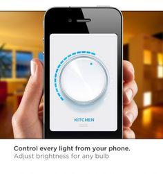Como vamos acender ou apagar luzes no futuro? assim! Com certeza adorei a ideia! quero ter a possibilidade de ter em casa!