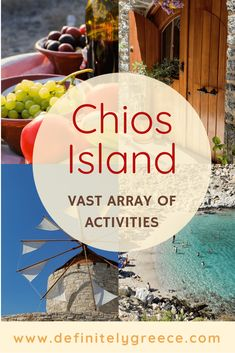 Experience the uniqueness of Chios island and the vast array of activities it can offer, which are exclusive to the island Amazing Destinations, Holiday Destinations, September Holidays, Chios Greece, Sailing Trips, Greece Islands, Ancient Ruins, Archipelago, Greece Travel