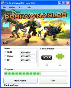 The Respawnables Hack Tool 2018 Download. The Respawnables Hack Tool Download Today we introduce to you the 100% working The Respawnables Hack Tool which add unlimited Coins and Gold and XP to your devices application in just one second. All you need to do is just to login and press activate hack. We guarantee you that you will be the best The Respawnables