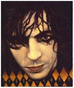 Syd Barrett by George Underwood who was David Bowie's childhood friend. David…