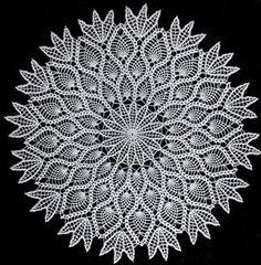 How to Crochet Pineapple Doily Star [Free Written Pattern]