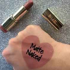 Milani Lipstick: Matte Naked #Lips #Swatch #LipSwatch #Makeup #Beauty #Milani #Lipstick #LipstickSwatch