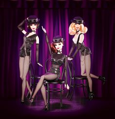 The girls of cabaret...i would do probably mostly anything to have these.