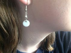 Mother of Pearl Earrings Charged with Reiki and created with love  by Magic Mixes.