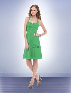 Option 3.   Bill Levkoff. Bridesmaid Dress Style 153