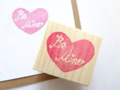 Rubber stamp Valentines day Wedding by JapaneseRubberStamps