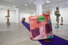 Rachel Harrison Greene Naftali Gallery New York Installation view The Help 2012