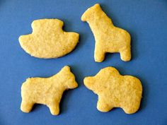 Homemade Animal Crackers (I've made them before and they are great- they sell the cookie cutters at Joanne's)