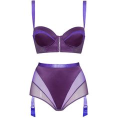 e9c29f5438 NN High-waisted suspender brief and corset bra - Inverted triangle