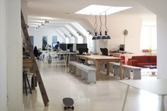 Awesome offices: Inside 12 fantastic startup workplaces in Berlin - The Next Web - Gidsy Berlin  #interior #layout
