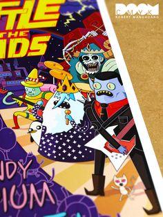 BOTB Adventure Time Fan Art Poster close-up #2