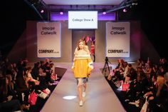 Graduate Catwalk A on the Image Catwalk at Clothes Show Live