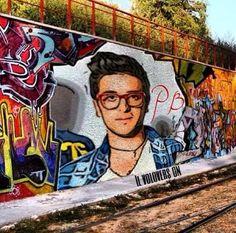 Our Piero as on Street art!  IL VOLO Credit: @Il Volo falconve
