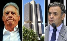 Proer deu R$ 1.250.000.000,00 para banco da família de Aécio Neves que já estava para falir