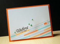Wishing You Zippered Birthday Card by Cristina Kowalczyk for Papertrey Ink (May 2013)