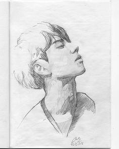 (@miro_z_art)  Sketchbook  #face #portrait #sketch #sketching #sketchbook #paper #pencil #draw #drawing #art #artwork #fineart #contemporaryart #pencilsketch #pencildrawing #pencilart #miro_z #instaart #arts_help #beautifulbizarre #artist_4_shoutout #onyxkawai