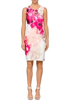 found this via @myer_mystore White Sheath Dress, To Loose, Calvin Klein Dress, Selling On Ebay, Declutter, Charity, Fashion Ideas, Arms, Floral Prints