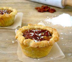 Jenny Steffens Hobick: Petite Deep Dish Pecan Pies | Pie Recipes for Thanksgiving