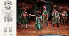PlayMakers Page to Stage: November 2015 Peter And The Starcatcher, This Is Us, Stage, Actors, November 2015, Costumes, Costume Ideas, Painting, Design Concepts