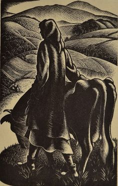 Clare Leighton wood engraving