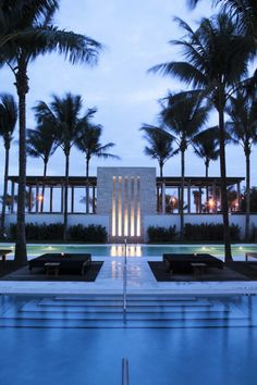 The Setai Hotel, Miami   I've been at this hotel and it was spectacular ... :) I loved it !