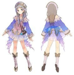 Totori Concept - Characters & Art - Atelier Totori: The Adventurer of Arland