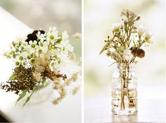 totally dig wildflower-ish bouquets