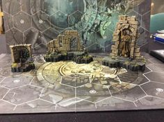 Game Terrain, Wargaming Terrain, Table Games, Underworld, Diorama, Board Games, Nerdy, Scenery, Fantasy