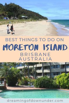 Discover what to do on Moreton Island, Brisbane, Australia, including Tangalooma Island Resort, camping grounds, Tangalooma wrecks, day trips and tours and how to get there by ferry. Enjoy a top Queensland day trip or weekend away! #australia #queensland #travelaustralia Brisbane City, Coast Australia, Queensland Australia, Australia Travel, Best Places To Travel, Places To See, Things To Do In Brisbane, Travel Advise, Airlie Beach