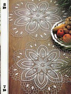 Free Printable Crochet Doily Patterns | Mantilla Doily ...