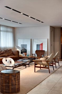Living Room Design Inspiration - Be inspired by the most stylish and individual dining room decorati Living Room Interior, Home Living Room, Home Interior Design, Living Room Designs, Interior Architecture, Living Room Decor, Bedroom Decor, Home Decor Furniture, Luxury Furniture