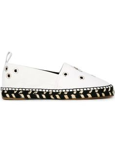 Shop Proenza Schouler eyelet embellished espadrilles in Biondini Paris from the world's best independent boutiques at farfetch.com. Shop 400 boutiques at one address.