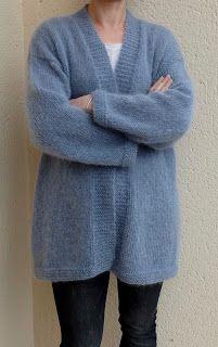 Tricolyne: Vest Very soft jacket Crochet Skirt Pattern, Knit Vest Pattern, Chunky Knitting Patterns, Cardigan Outfits, Long Cardigan, Knitting For Kids, Crochet Cardigan, Lana, Couture