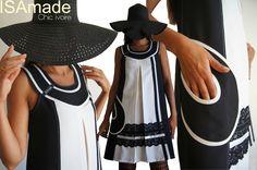 17cd9b41f874 Robe trapèze Chasuble Asymétrique Noire   Blanche Ivoire Graphique à  dentelle noire fine   tendance Automne Hiver 2014 2015 !