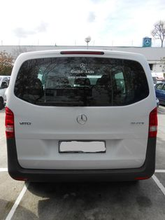 Trasero VITO MIXTA alquiler Mercedes Benz Vito, Autos