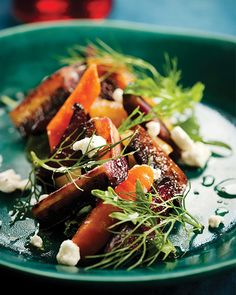 Honey-Baked Vegetables with Goat Cheese - #sweetpaul