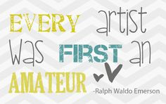 Inspirational Artist - Photography Quote