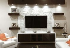 Furniture Tips And Tricks To Enhance Your Entertainment Center www.closetfactory… Furniture Tips And Tricks To Enhance Your Entertainment Center www.DIY Entertainment Center Ideas and Designs For Your New Home Tags: Floating Entertainment CenterDo you f Tv Cabinet Design, Tv Wall Design, House Design, Tv Wall Decor, Wall Tv, Wall Shelves, Diy Wall, Tv Wall Units, Tv Unit Decor
