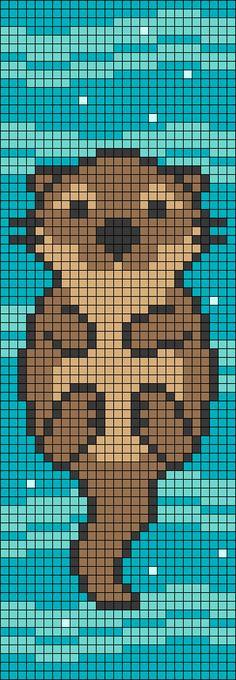 Cross Stitch Pattern Maker, Cross Stitch Art, Cross Stitch Animals, Cross Stitching, Cross Stitch Embroidery, Cross Stitch Patterns, Graph Paper Drawings, Graph Paper Art, Pearler Bead Patterns