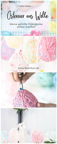 Easter Eggs do it Yourself – Meine einfache Anleitung zum Basteln für Ostern f… Easter Eggs do it Yourself – My simple Easter crafting tutorial for Easter eggs made from wool as a pretty Easter decoration. Just make Easter decoration… Continue reading → Easter Presents, Easter Gift, Easter Crafts, Mason Jar Crafts, Mason Jar Diy, Bottle Crafts, Craft Tutorials, Diy Projects, Spring Decoration