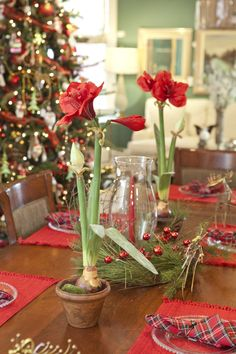 Table Center Piece #holiday #decorating