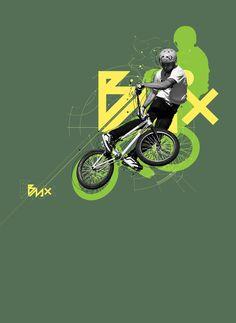 BMX on Behance