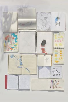 """""""Sketchbooks"""" by Angela Taguiang"""