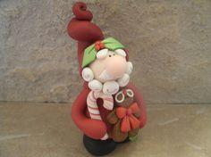 Santa and Gingerbread Man