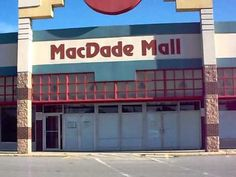 MacDade Mall [Abandoned Mall] - Holmes, PA - With online shopping all malls may look like this www.lalolionlineshopping.com
